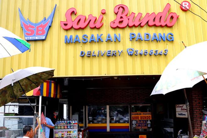 Rumah Makan Padang Sari Bundo Pusat Juanda