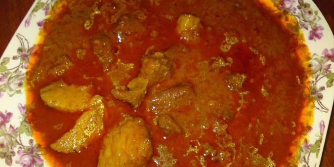 resep gulai cincang daging masakan padang