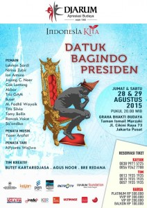 Acara Indonesia Kita dari Djarum, RM Sari Bundo kebagian peran pembantu