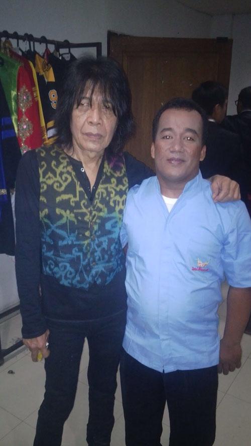 Rendi RM Sari Bundo bersama Ian Antono