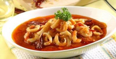 Resep-Cumi-goreng-tepung-Saus-Padang