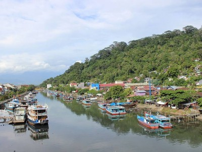 Kawasan Wisata Batang Arau, Padang Tercemar Limbah Pabrik