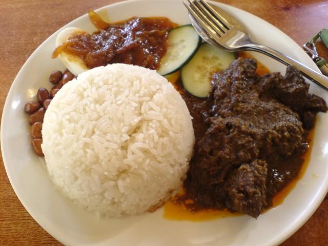 daging sapi mahal rm padang kurangi masak rendang
