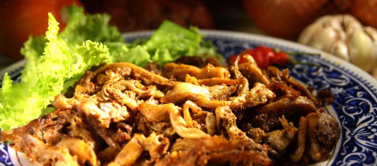 Rendang Jamur Tiram, Alternatif Kalau Harga Daging Sedang Melambung :)