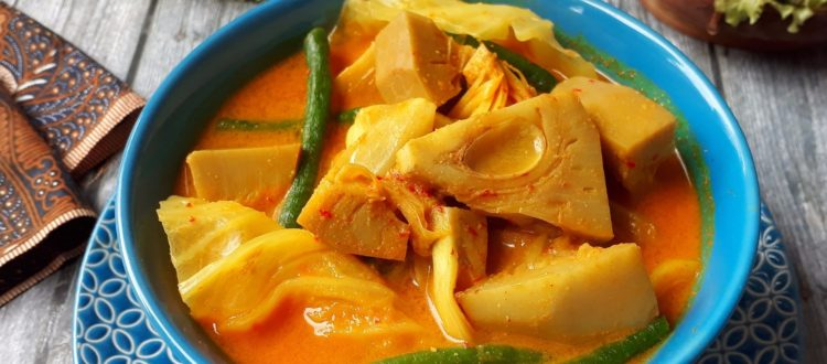 Hasil gambar untuk sayur nangka kapau