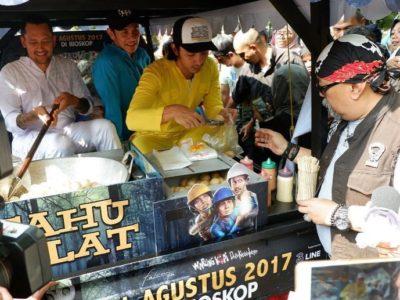 Makan Nasi Padang, Resep Menjaga Stamina 'ala' Indro Warkop