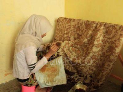 Uniknya Batik Tanah Liat dari Minangkabau