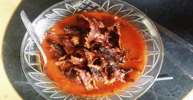 Asam Limbek Masiak, Makanan Khas Nagari Salareh