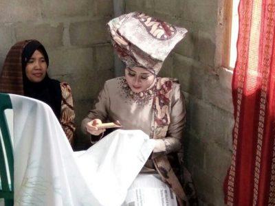 Berkunjung ke Nagari Lumpo, Produsen Batik Minangkabau