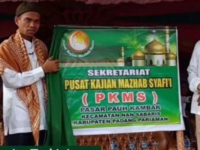Pusat Kajian Mahzab Syafie di Padang Pariaman Resmi Dibuka UAS