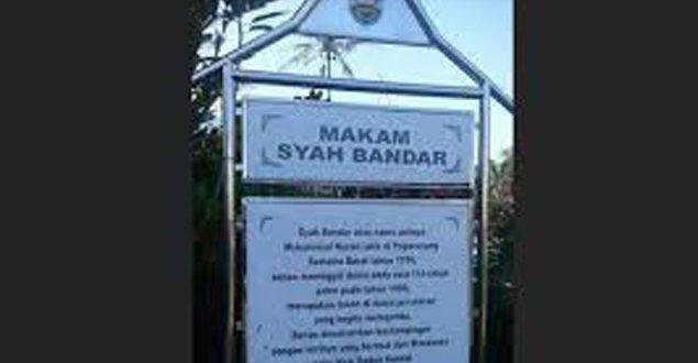Eyang Syahbandar Pendekar Anti VOC Asal Padang