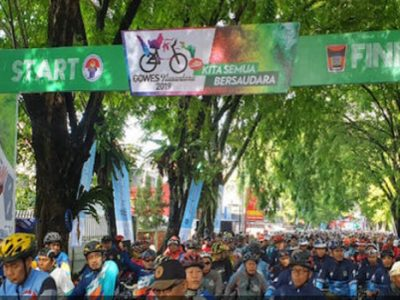 Kota Padang Menjadi Tempat Pertama Pelepasan Gowes Nusantara 2019