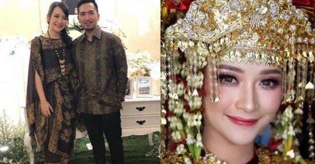 Kinal Eks JKT48 Saat Menikah, Usung Adat Minangkabau dan Sunda