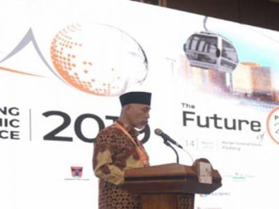 Wali Kota Mahyeldi Ajak Peserta PEC 2019 Urun Rembuk Bangun Ekonomi Padang