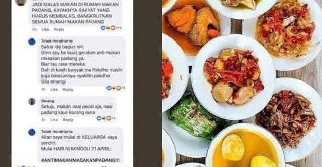 Yakin Kuat Kalian Mau Boikot Rumah Makan Padang?