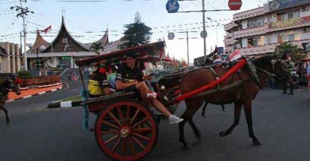 Transportasi tradisional di Kota Padang Yang Sudah Ditinggalkan