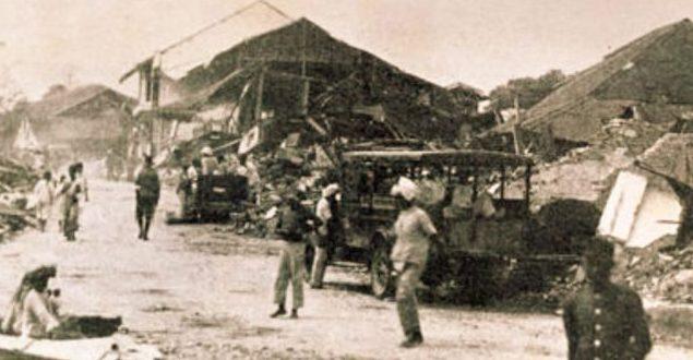 Sejarah Gempa di Sumatra Barat Dalam Kearifan budaya Minang