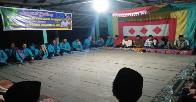 Komunitas Kato Pasambahan Sariak Sarumpun Lakukan Bangkitkan Adat dan Tradisi Minangkabau