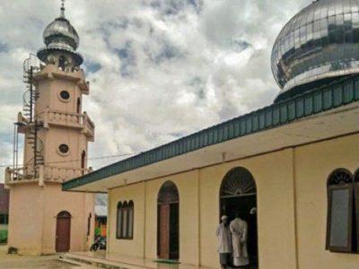 Masjid Lama Sidikalang Dairi Dibangun Pertama Kali Oleh Ulama