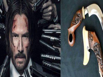 Senjata Khas Asal Minangkabau akan Dipakai Keanu Reeves di Film John Wick 3