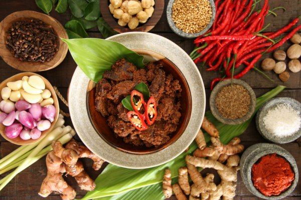 Bumbu-bumbu masakan Padang Foto BP-GuideId