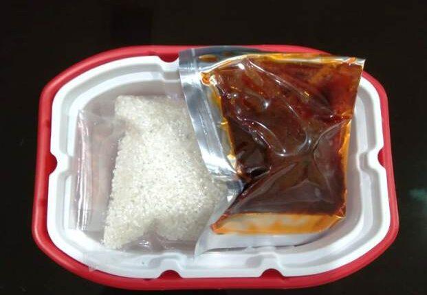 Nasi Rendang Instan Padang