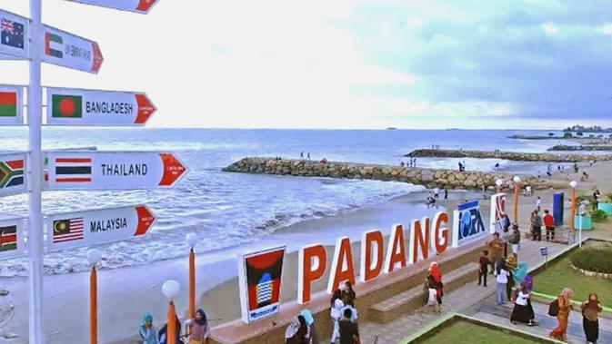 Fakta Unik Kota Padang - Pantai Padang - Liputan6